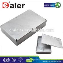 Boîte de projet en aluminium de pédale d'effet de guitare de 1590DD
