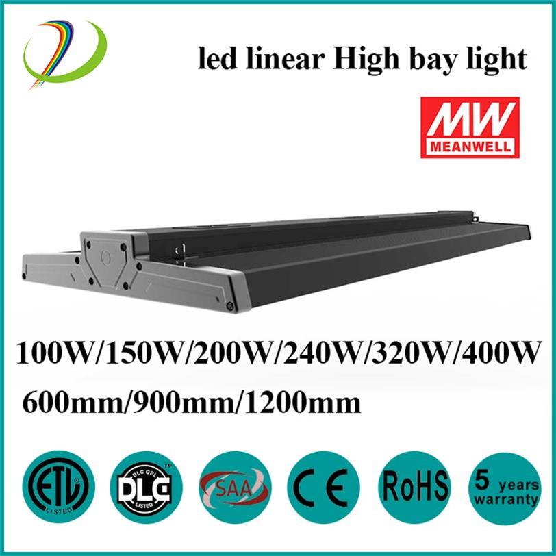 Conductor Lineal High Bay 200W MeanWell