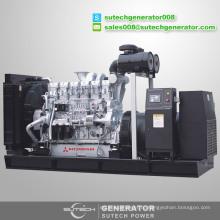 Цена контейнерных молчит 1500 дизельный генератор kva с двигателем Мицубиси S12R-PTAA2