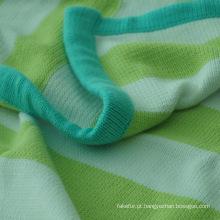 Cobertor de bebê tricô algodão macio camisola CB-K1306