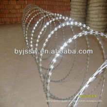 450mm Diâmetro da bobina Concertina Razor Barbed Wire