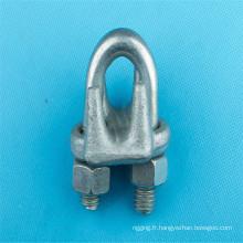 HDG G450 Galvanisé nous Type Clip de câble pour câble métallique