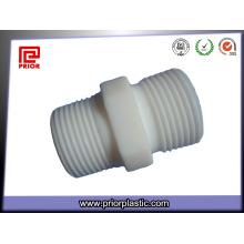 Teflon CNC Bearbeitungsteil mit Gewindeschraube