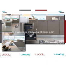 Best Quality Cheap Price Kitchen Cabinet with Soft Touch Pvc Door onto Mdf
