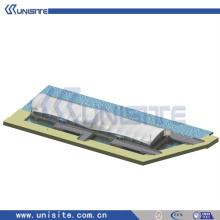 Plate-forme de plate-forme de montage en acier pour la construction marine (USA-2-004)
