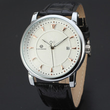 Genuine leather 3atm water resistant Automatic watch