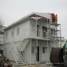 2-х этажный панельный дом контейнерного типа бытовки для жилого решение