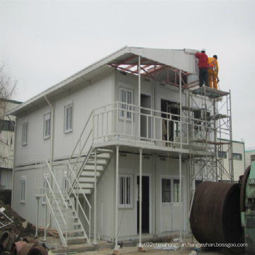 2 Storey Containerized Prefabricated House Cabins for Residential Solution