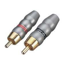 Grey Color for RCA Connectors