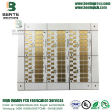 1 Layer Copper Base Matel PCB ENIG Lâmpada LED