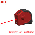 MEDIDAS DE FITA LASER 2-IN-1 200FT COM VISUALIZAÇÃO DIGITAL