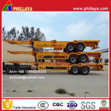 2 Axles Skeleton-Type Container Trailer Chassis