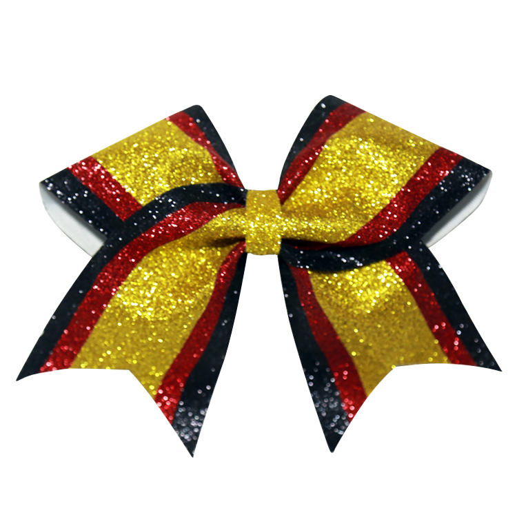 cheerleading hair bows