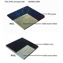 Correias de transporte flama resistente tecido sólido (1000s)
