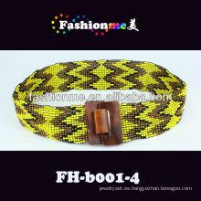 Fashionme 2013 nueva tendencia elástica correa moldeada