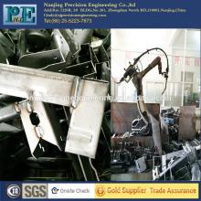 Precisión cnc mecanizado de piezas de soldadura, mecánica soldadura brazo piezas de automóviles