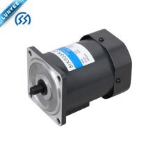 Motor de inducción eléctrico trifásico de baja fricción trifásico de 60w 220v trifásico
