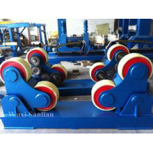 VFD Rubber Wheel Pipe Turning Rolls with Single Motor / 380