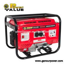 Мощность Значение Электрический ключ запуска Cam профессиональный бензиновый генератор