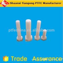 PTFE SCREW plástico roscado com flange de nylon ptfe