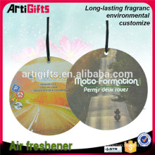 Made in china square hanging car air freshener