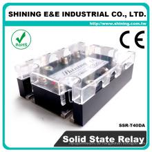 SSR-T40DA CE-geprüftes 3-Phasen-Plattenmontage-Halbleiterrelais