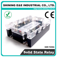 SSR-T40DA CE Approved 3 Phase Panel Mounted Solid State Relay