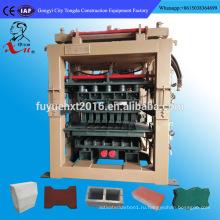 Простое производство машина QT8-15 цемент пустотелые бетонные блоки цена