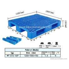 Packing and shipping / plastic pallets in China