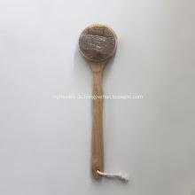 Trockene haut vegane bambus körper duschbürste