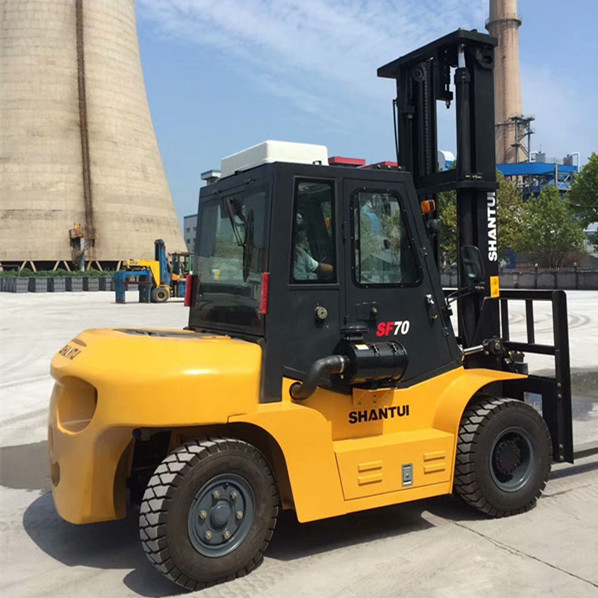 7 Ton Forklift With Cab