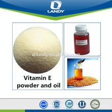 Alimentación de aceite de vitamina E / grado alimenticio
