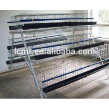 jaulas de capa de granja de aves de corral para la venta