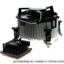 Vente en gros, bonne qualité, dissipateur de zinc CPU