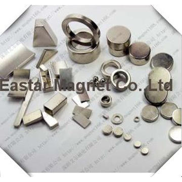 Permanent Neodymium Motor Magnet with High Quality Plating