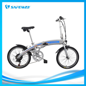 Hidden battery folding slim frame electric bike