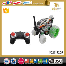 Hot rc stunt car with colorful light