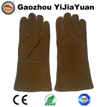 Anti Cutting Industrial Leather Welders Work Gloves with Ce