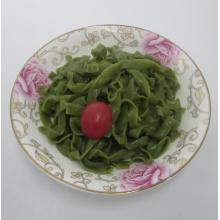 Precooked Flavored Spinach Konjac Shirataki Fettuccine Pasta