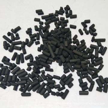Carbón activado basado en carbón de la purificación de los gases de la basura