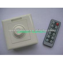 Dimmer infravermelho do controlador DMX do IR do controlador 12key do diodo emissor de luz do toque