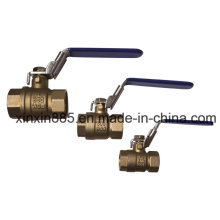 Brass Ball Valve with Lockable Handle