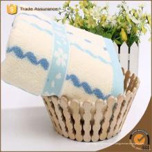 100% coton rayé serviette de plage / serviette de plage en microfibre
