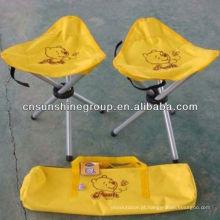 Cadeira/acampamento pesca fezes, fezes Slacker de dobramento
