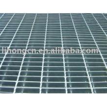 Plancher de grille, revêtement de sol de grille, grille de grille, grille en acier