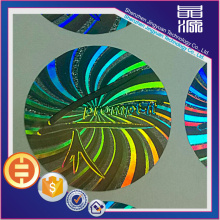 Round Holographic Security Laser Sticker