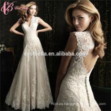 OEM servicio de estilo moderno vestido nupcial de la boda