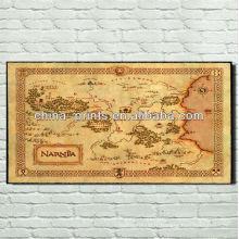 Vintage Europe Map images imprime sur toile