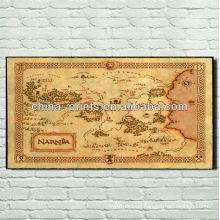 Vintage Europe Map images prints on canvas