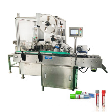 Hot sale 10ml test tube filler capper and labeller,plastic vial blood test tube filling and capping machine